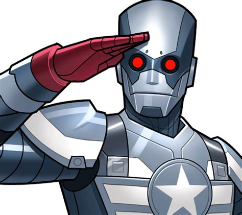 Robot Mobil Captain America captain america robot earth trn562 marvel database fandom powered by wikia