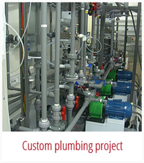 Custom Plumbing Services by Custom Fabrication Modutek