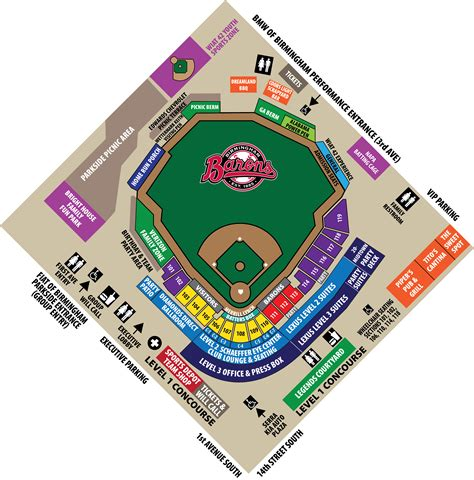 mccoy stadium seating chart youth programs birmingham barons community
