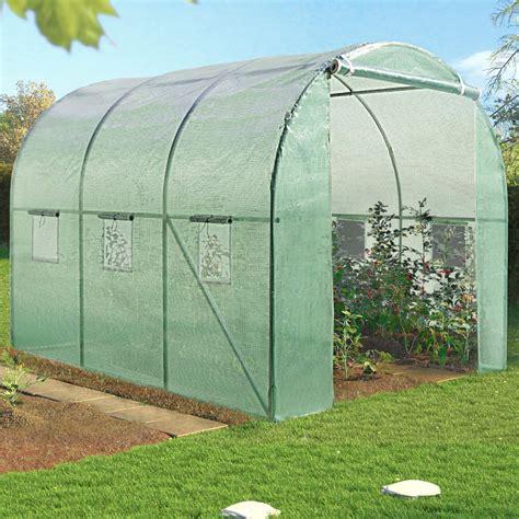 serre de jardin tunnel 1701 serre de jardin tunnel 6m 178 verte en acier galvanis 233 serres