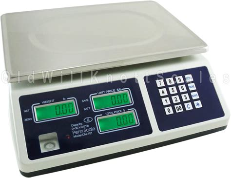 digital price penn scales cm101 digital price computing scale