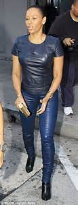 Win Your Mate A To Toe Makeover With Cq And Guess by Mel B Shows Figure In All Leather At Dinner With