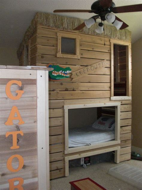 fort bunk bed bunk bed fort kids room pinterest