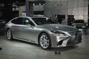 2018 lexus ls f sport joins ls 500h in new york