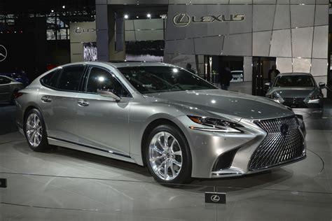 New Lexus Ls by 2018 Lexus Ls F Sport Joins Ls 500h In New York