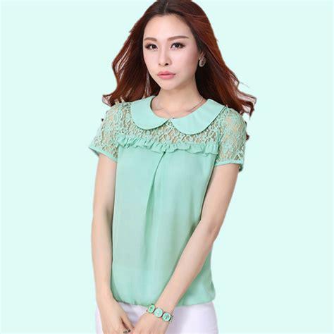 Korea Top Longsleeve Renda Blackk Wgset0161 blusas de encaje negro compra lotes baratos de blusas de
