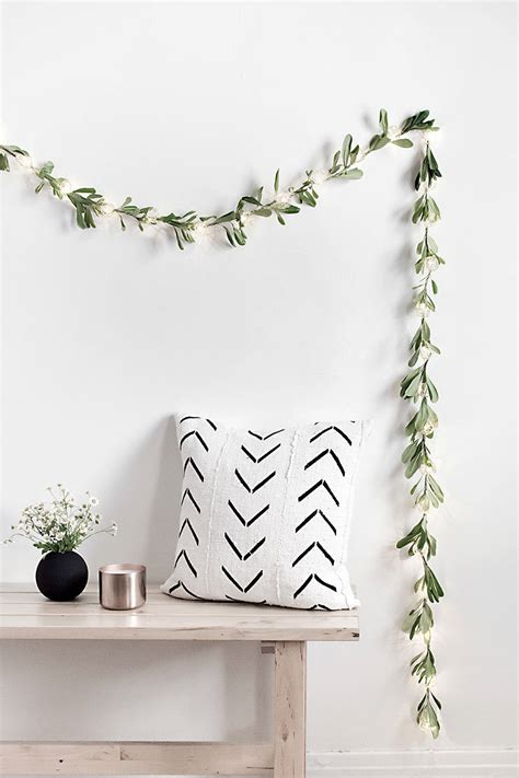 diy decorations garland diy string lights garland homey oh my