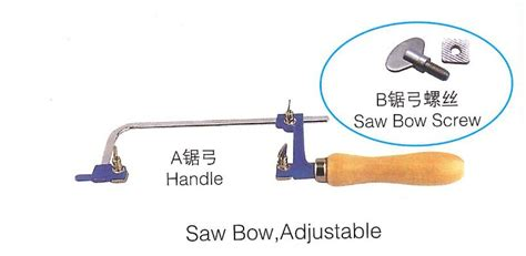 Multi Function Coping Saw With Screw Adjusts Blade In