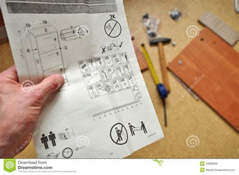 assembly work home royalty free stock photo image 34888305