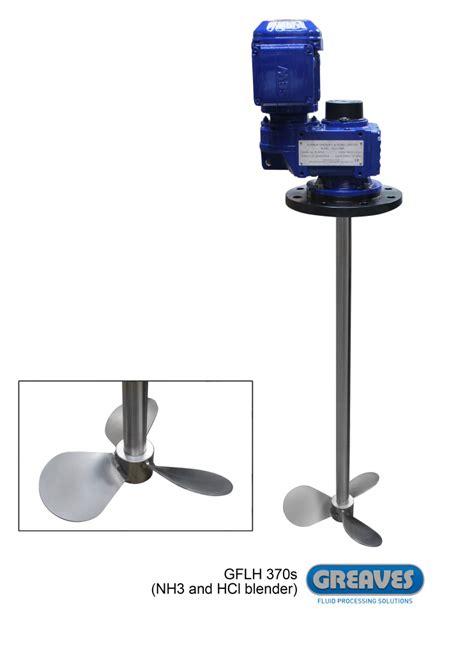 Mixer Agitator propeller mixers high shear mixers and dispensers