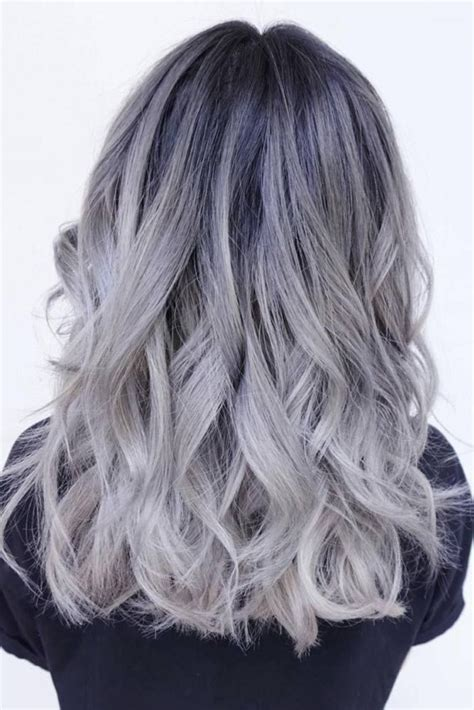 ombre double top grey 215 best grey hair colors images on pinterest hair ideas