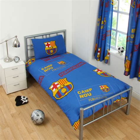 fc barcelona bed set official football club duvet cover sets chelsea