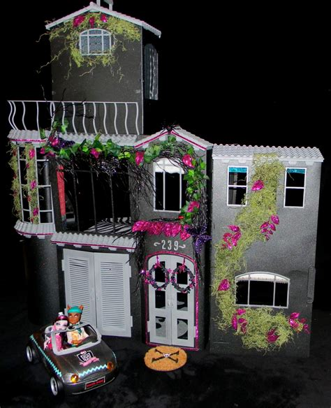 toys r us monster high doll house outside of the latest custom made house monster high