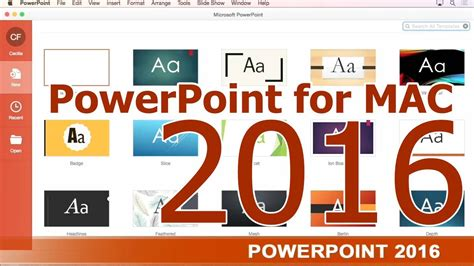 powerpoint tutorial step by step powerpoint for mac 2016 tutorial step by step