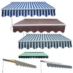 sunshade retractable awning garden patio manual aluminium retractable awning canopy