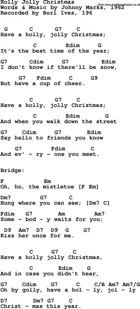 Jingle Bells Chords And Lyrics Guitar