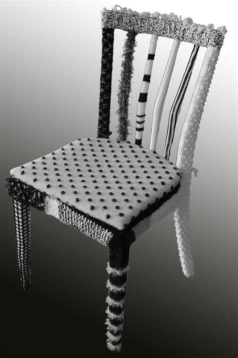 stuhl basteln stuhl in neuem kleid handmade kultur