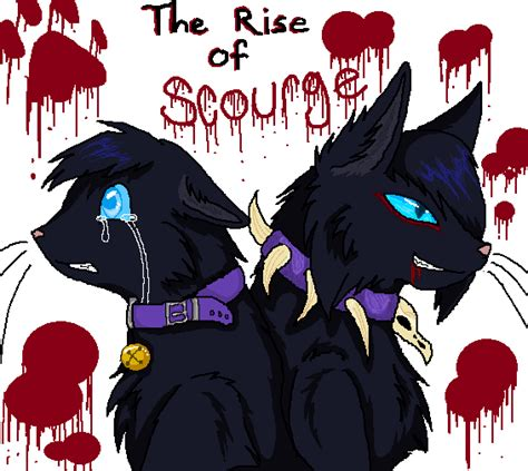 warriors the rise of scourge the rise of scourge by wolfiemoonscar on deviantart