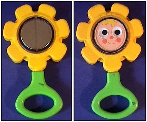 Fisher Price Rattle Stick vintage toys