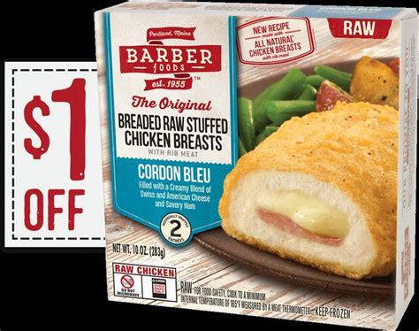 barber food printable coupons 1 off barber foods 174 coupon savings