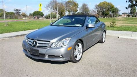 mercedes e350 coupe convertible buy used 2012 mercedes e350 convertible coupe in