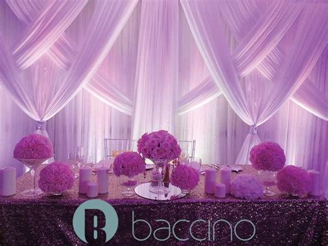 Wedding Table Backdrop by Backdrops Baccino Events Dj Decor Planning And