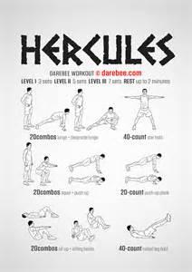 Desk Folder Hercules Workout