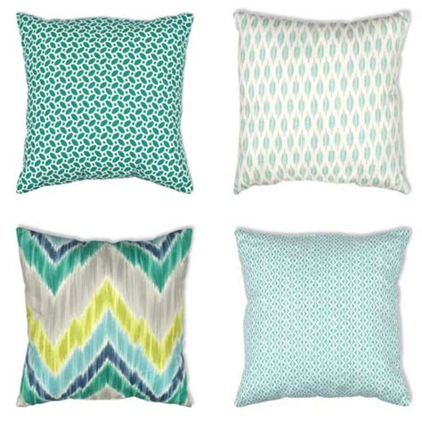 Aqua Pillow by Nine Aqua Pillows To Fall In With