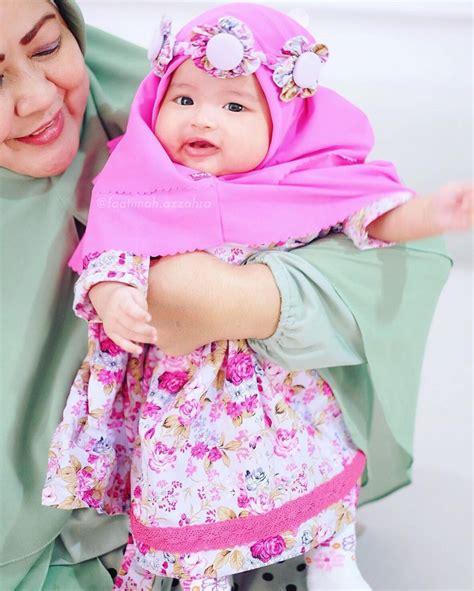 Jilbab Anak Unik 13 foto bayi pakai jilbab ini imutnya nggak nahan jadi