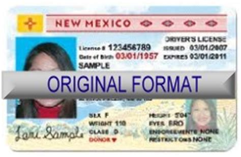 mexican id card template new mexico id and drivers license
