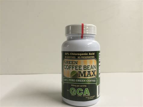 Green Bean Coffee Dietary Supplement Kapsul green coffee bean max gca dietary supplement burner 60 capsules only 163 1 00