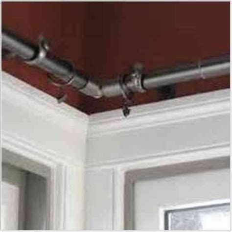 curtain rod corner corner window curtains window curtain rods and corner