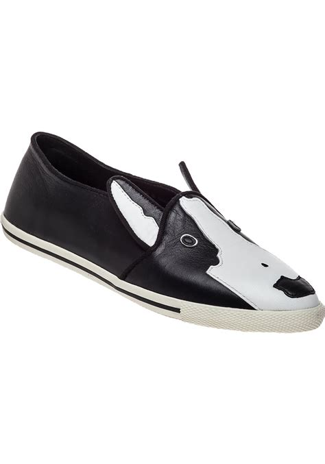 black and white loafer marc by marc neville bull terrier loafer black and
