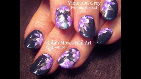 Floral Nail Design Tutorial