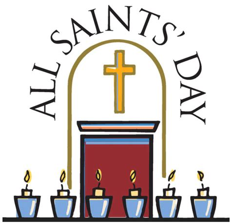 all free clipart all saints day clip clipart best