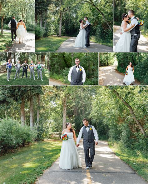St Albert Botanical Garden Themed Wedding In St Albert Edmonton Wedding Photographers