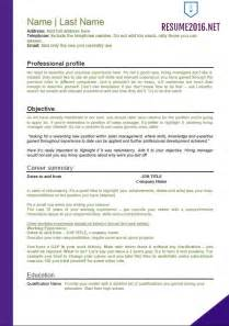 Resume Templates With Employment Gaps Resume Sles With Gaps Augustais