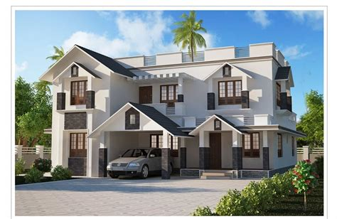 two storey kerala house designs 2 7 keralahouseplanner
