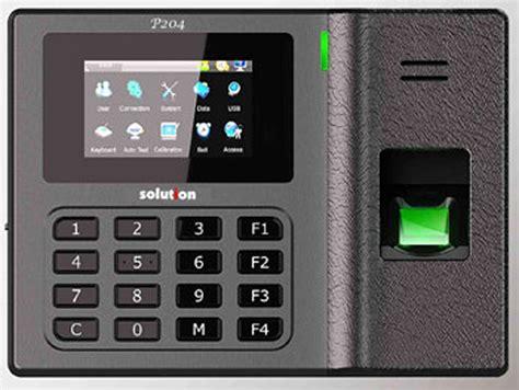 Absensi Sidik Jari Lx 20 harga jual solution p204 mesin absensi sidik jari