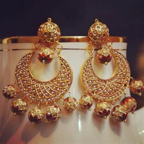 Belleza De Bali Earrings amritsari chand bali somethigs don t need explanation
