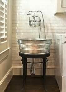 galvanized bathroom sink 20 creative ways to repurpose galvanized buckets and tubs