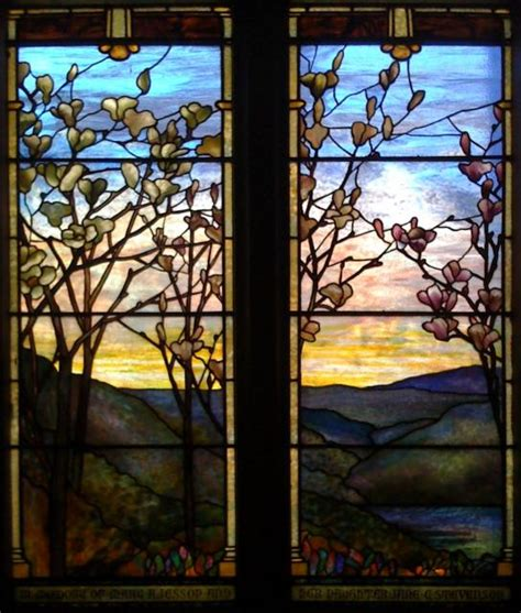 louis comfort tiffany stained glass windows louis comfort tiffany redtree times