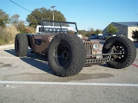 Rat Rod Jeep Build 1949 Willys Jeep Ratrod Streetrod Custom Build One Of