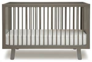 Modern Crib Oeuf Sparrow Crib Grey Modern Cribs By