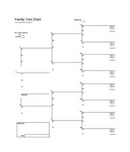 free family tree template printable sle blank family tree template 8 free documents
