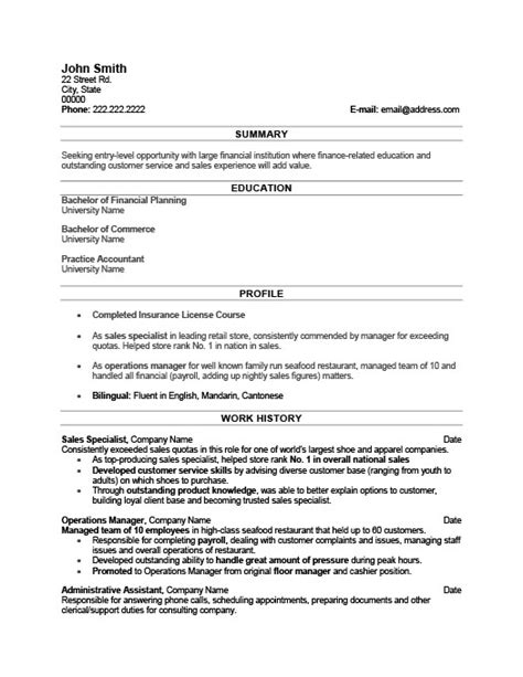 Marketing Specialist Sle Resume by Sales Specialist Resume Template Premium Resume Sles Exle