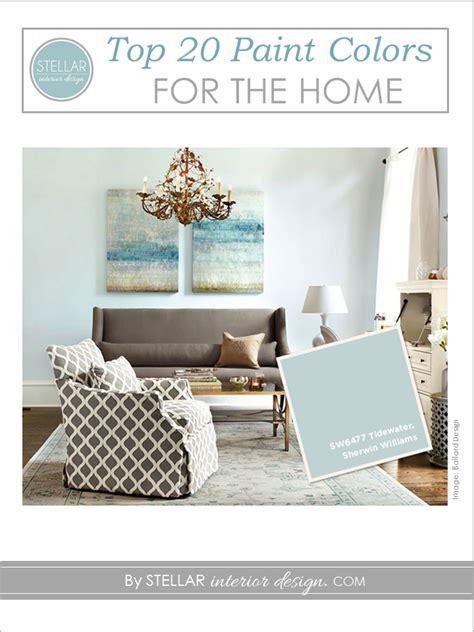 top paint colors stellar interior design