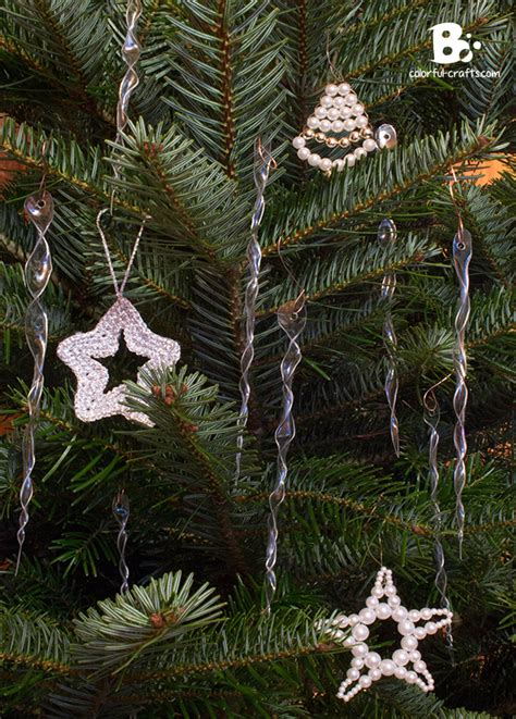 how to make plexiglass icicles for christmas tree in oven 16 diy ornaments to adorn your tree