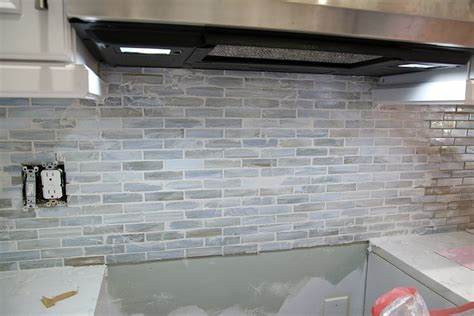 Tile Kitchen Backsplashes by Installing A Paper Faced Mosaic Tile Backsplash