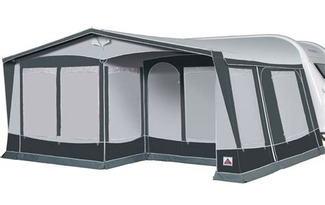 caravan awning 1050 dorema royal 350 de luxe seasonal pitch caravan awning